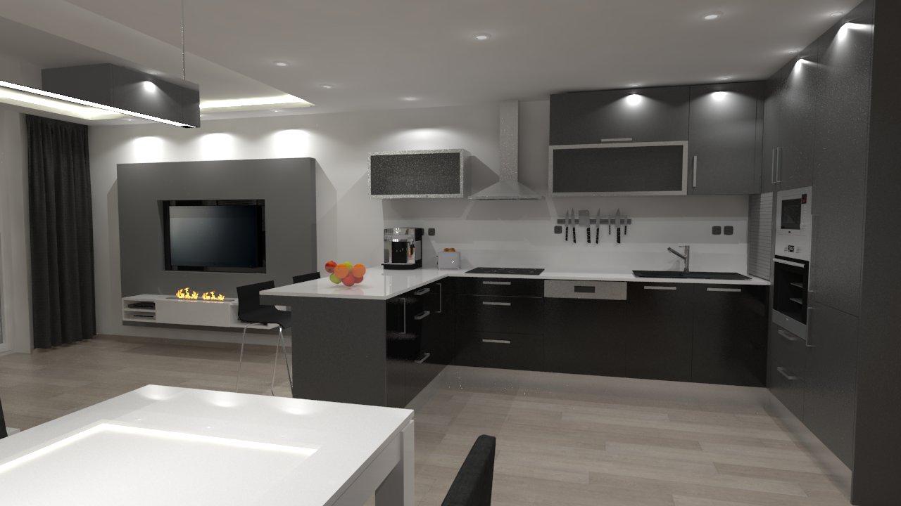 Interiér bytu – Pardubice Vinice