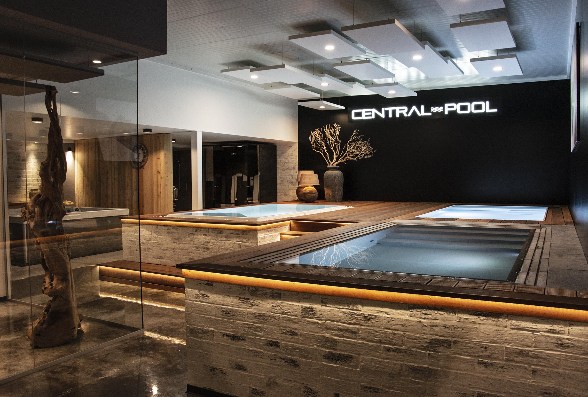 Central-pool – rekonstrukce showroomu – Hradec Králové